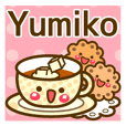 "Use the stickers everyday ""Yumiko"""