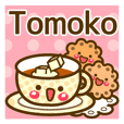 "Use the stickers everyday ""Tomoko"""