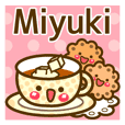"Use the stickers everyday ""Miyuki"""