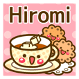 "Use the stickers everyday ""Hiromi"""