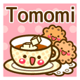 "Use the stickers everyday ""Tomomi"""