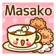 "Use the stickers everyday ""Masako"""