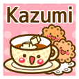 "Use the stickers everyday ""Kazumi"""