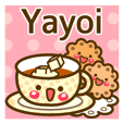 "Use the stickers everyday ""Yayoi"""