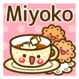 "Use the stickers everyday ""Miyoko"""
