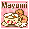 "Use the stickers everyday ""Mayumi"""