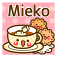 "Use the stickers everyday ""Mieko"""