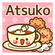 "Use the stickers everyday ""Atsuko"""