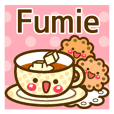 """Use the stickers everyday """"Fumie"""""""