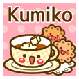 "Use the stickers everyday ""Kumiko"""