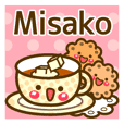 "Use the stickers everyday ""Misako"""