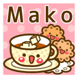 "Use the stickers everyday ""Mako"""