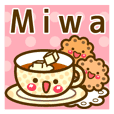"Use the stickers everyday ""Miwa"""