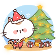 Poker face Cat : Christmas & New Year