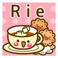 "Use the stickers everyday ""Rie"""
