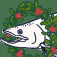 鮭的溫腥日常 冬天來了!