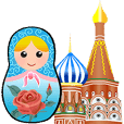Russian Matryoshka Nesting Doll - Rosie