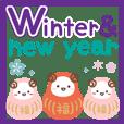 Panda cat, Pan'nya newyear's holiday eng