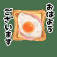 リアルな食べ物イラスト  (日常会話)