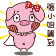 Coco Pig -Name stickers - Miss Chang