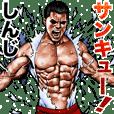 Shinzi dedicated Fine macho sticker