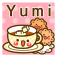 "Use the stickers everyday ""Yumi"""