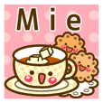 "Use the stickers everyday ""Mie"""