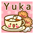 "Use the stickers everyday ""Yuka"""
