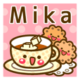 "Use the stickers everyday ""Mika"""