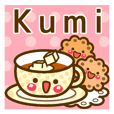 "Use the stickers everyday ""Kumi"""