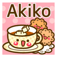 "Use the stickers everyday ""Akiko"""