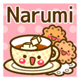 "Use the stickers everyday ""Narumi"""