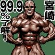Miyazaki dedicated Muscle macho sticker