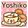 "Use the stickers everyday ""Yoshiko"""