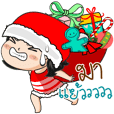 Noo Namtan : Christmas & New Year