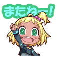 Overdroid KAWAII Sticker 1