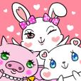 shrewd cuteness stamp