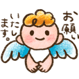 angel child sticker
