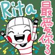 Rita's sticker