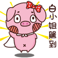 Coco Pig -Name stickers - Miss Bo