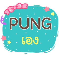 PUNG is here V.1 e