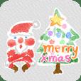 Santa In Watercolour