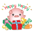 Calrie Piggy : Happy New Year