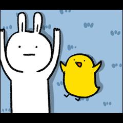 懶散兔與啾先生的os動動動