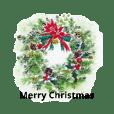 クリスマス(水彩)