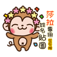 Twopebaby flower monkey 01sara