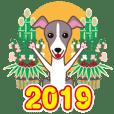 NEW YEAR 2019〜イタグレと車