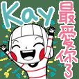 Kay's sticker