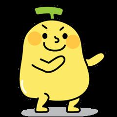 可愛香蕉人5 - 雙人撒嬌聲音貼圖