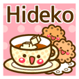"Use the stickers everyday ""Hideko"""